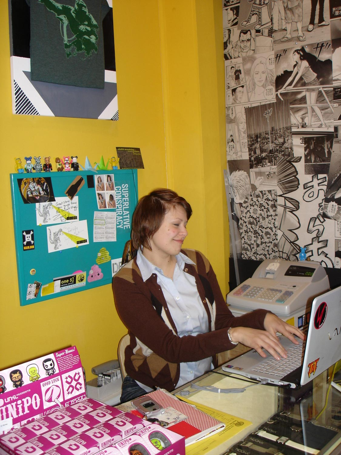 Liz says: Cheers to 15 years of 'working at the desk', which era did you know me best?