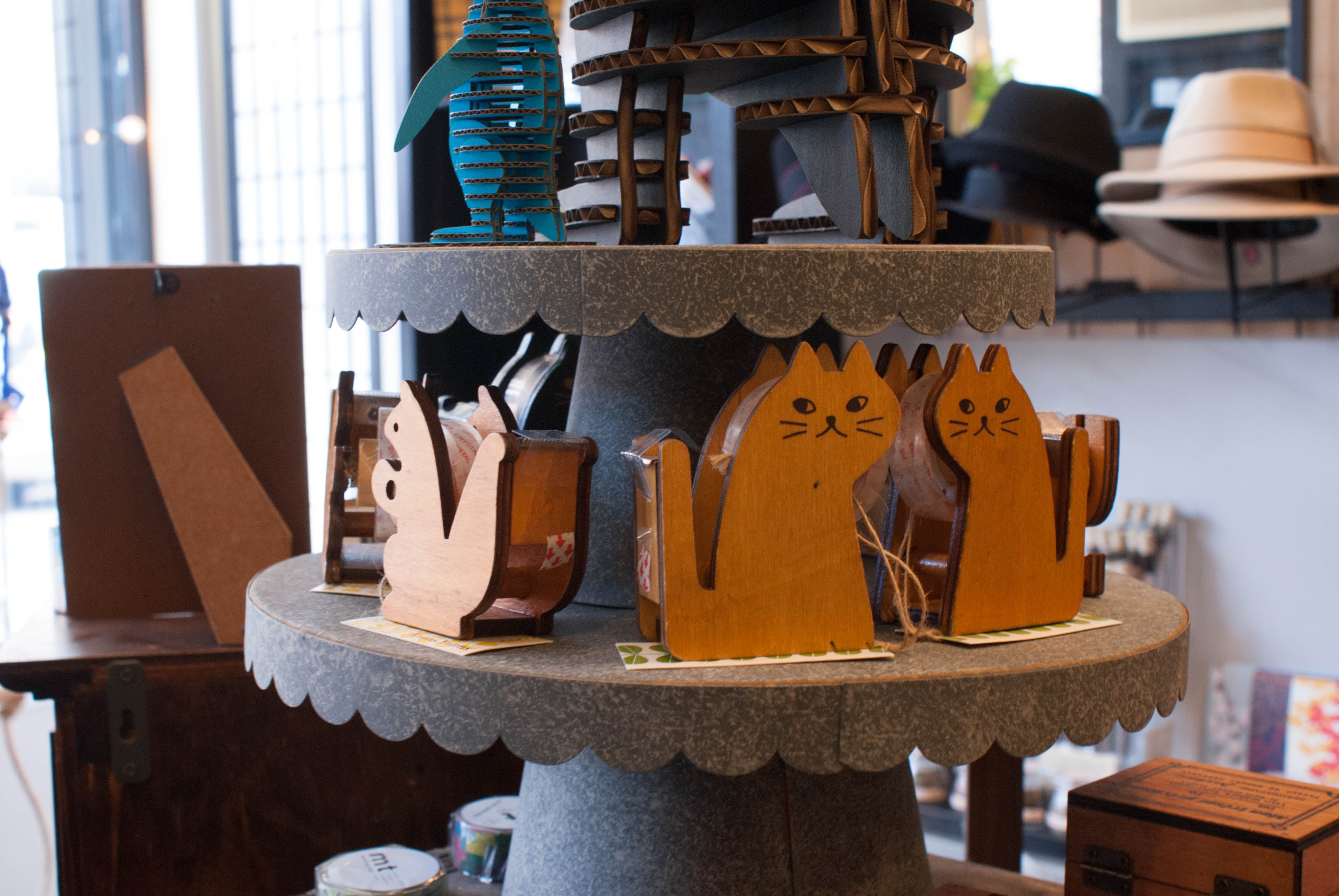 The stories we have about these damn wooden cat zakka items...