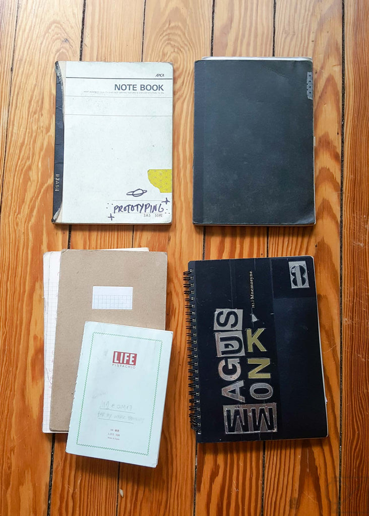 my personal favorite, A5 size Japanese and Korean notebooks