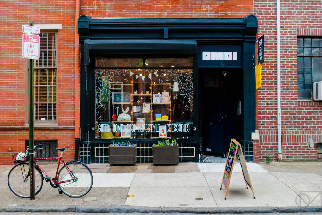 Our 1608 Pine Street storefront in March 2017. Greetings from Philadelphia!