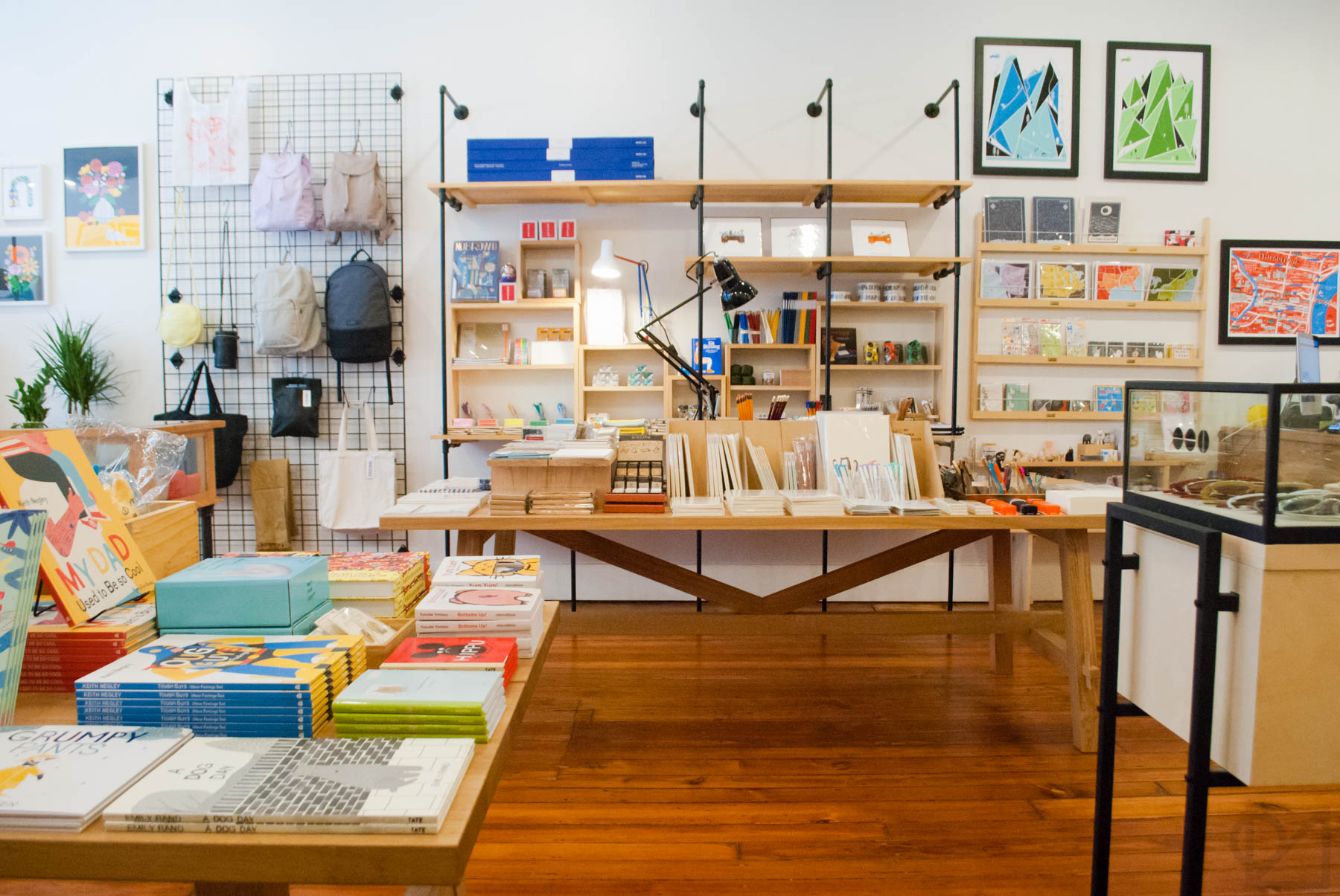 We've focused our stationery alongside an entire half of the shop now