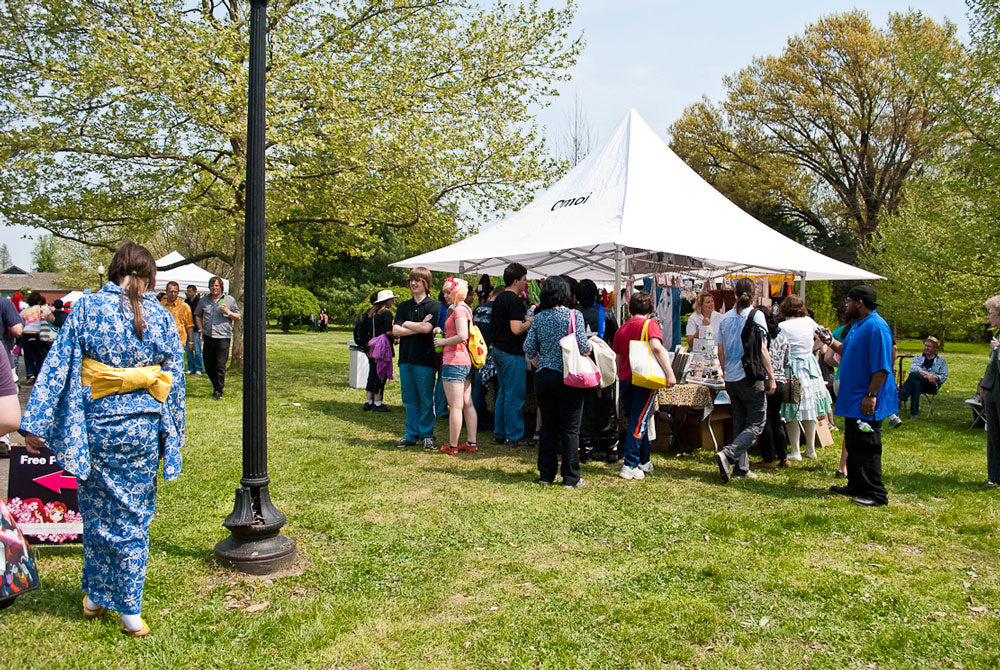 The annual Cherry Blossom Festival used to be a big deal for us, but as time wore on we found that festival goers expected different things from us than our regulars.