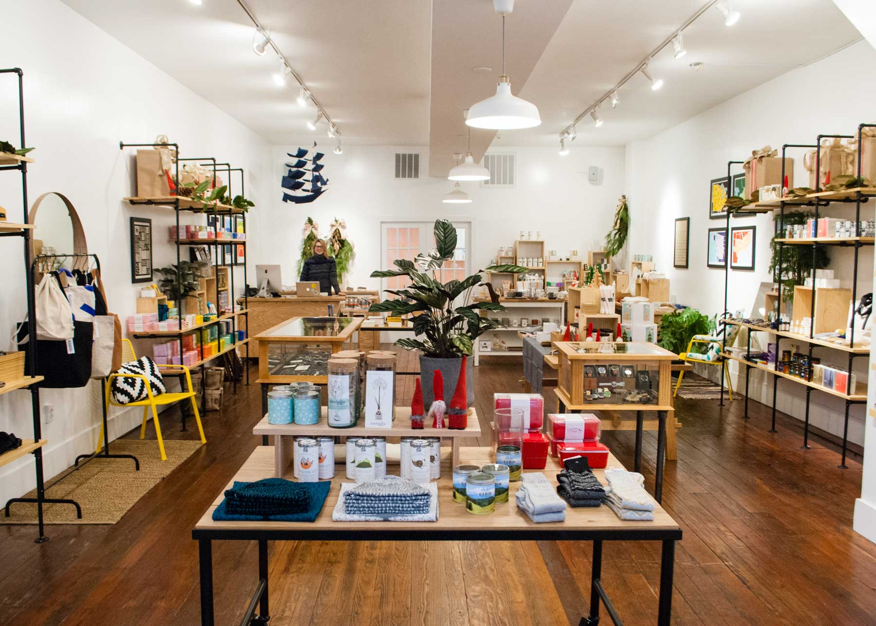With all the space our Old City store offers, we open with the concept of select homewares and lifestyle items.