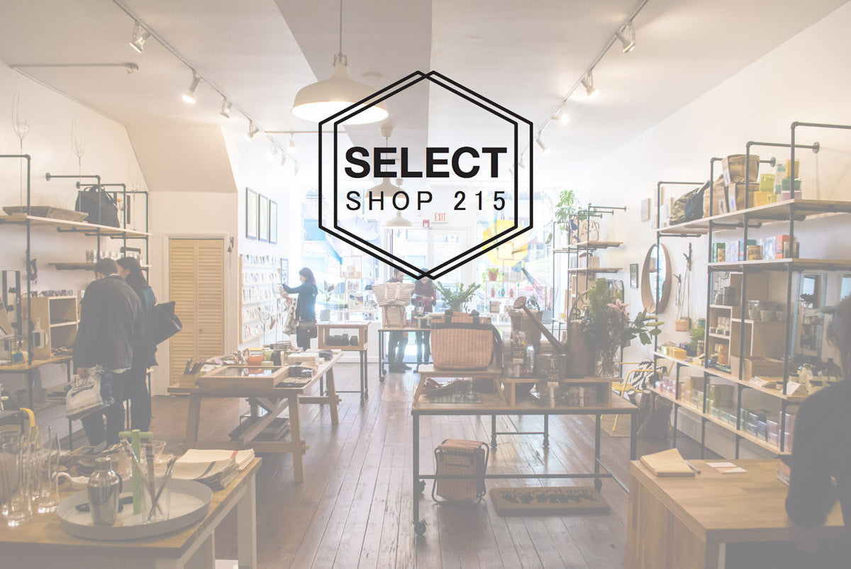 SELECT SHOP 215 in Philadelphia's Old City District