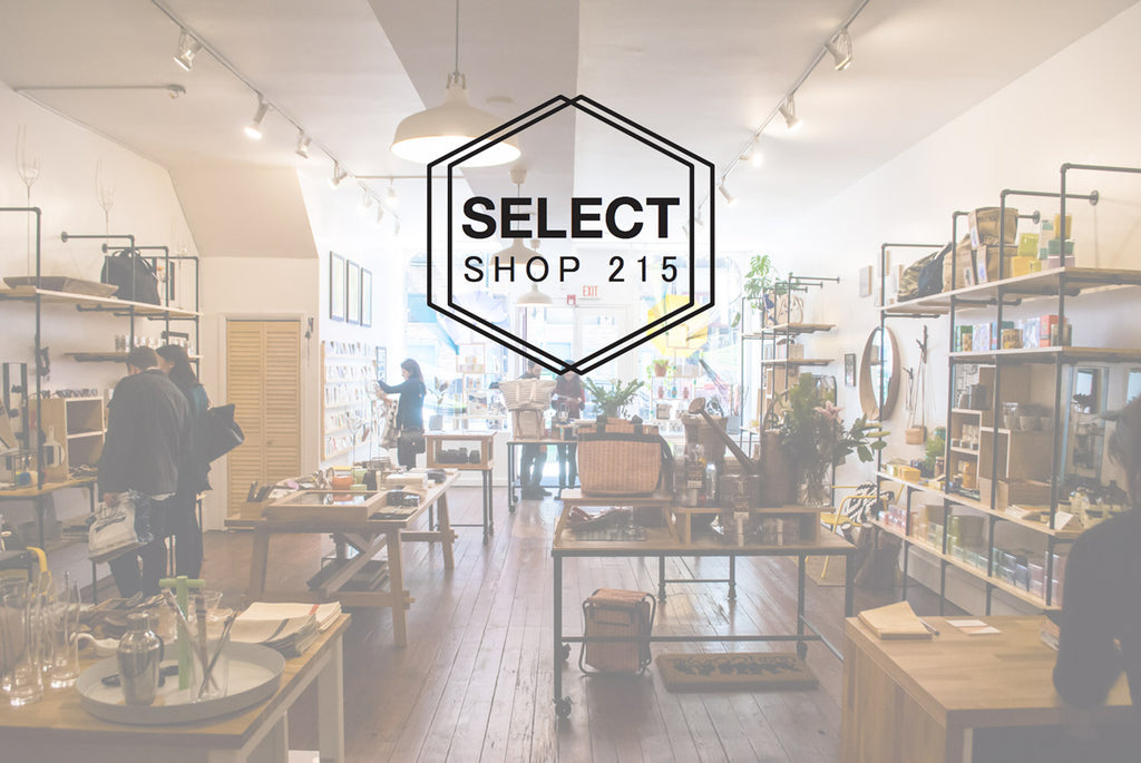 the interior of Select Shop 215, located at 41 S 3rd Street, Old City, Philadelphia