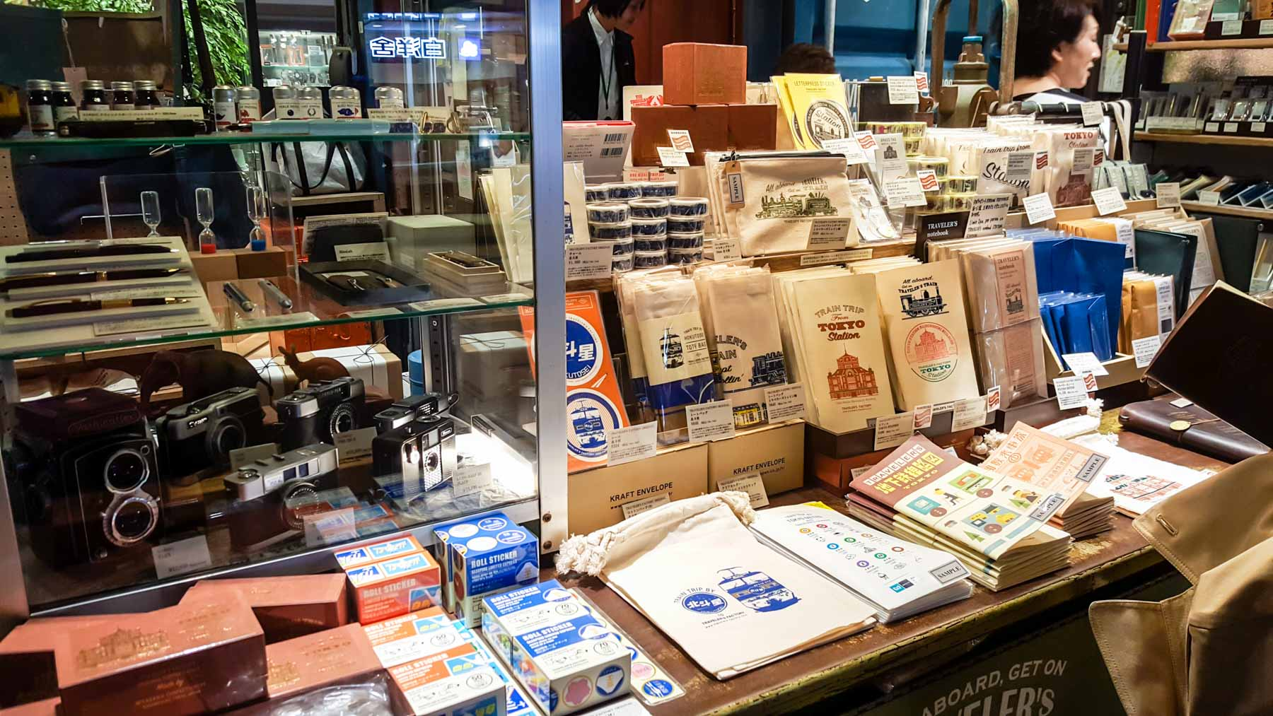 Everything looking soooo good at the Tokyo Station TRAVELER'S Factory