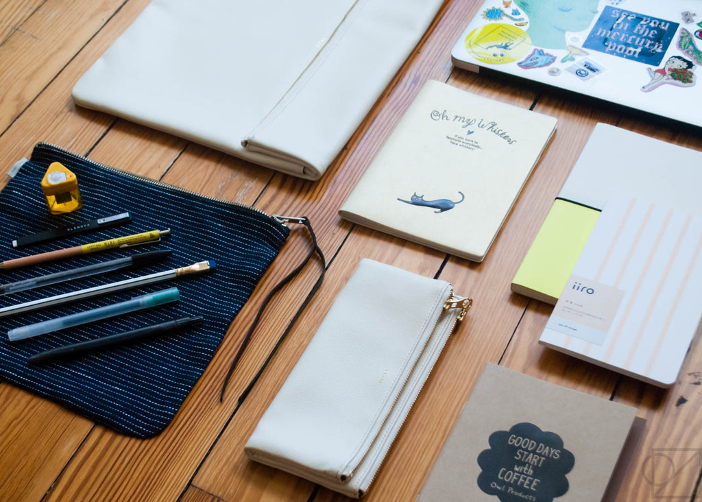 stationery grid & how to organize it