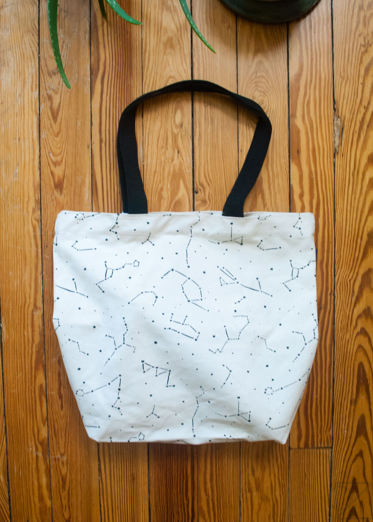 our tote bag is all packed for an afternoon adventure!