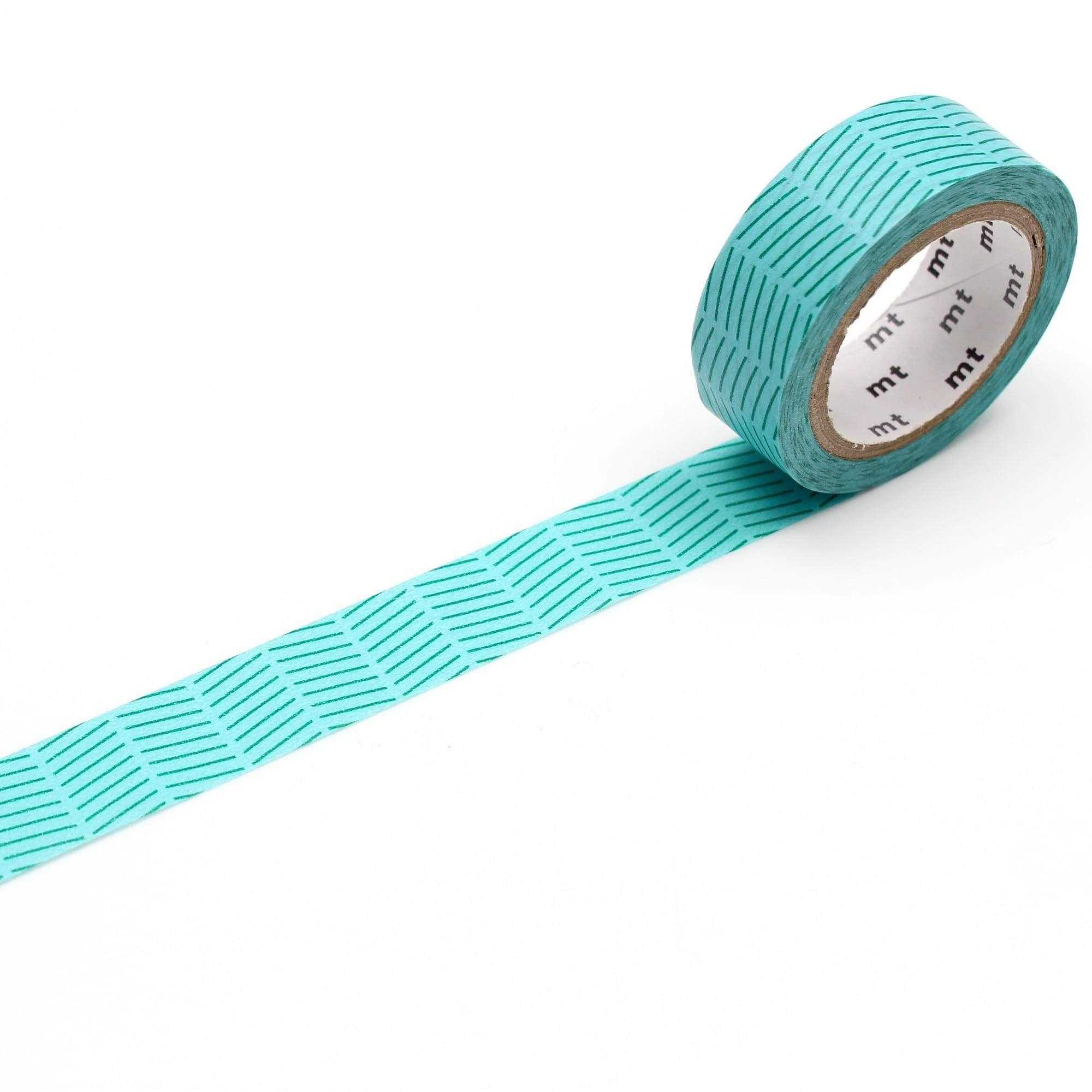 mt Washi Tape Diagonal Green