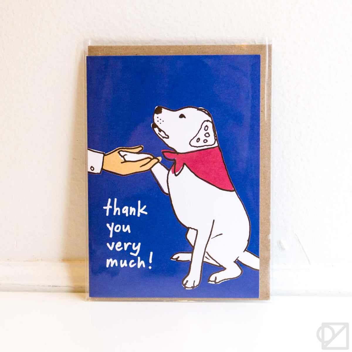 Good Dog Thank You Card