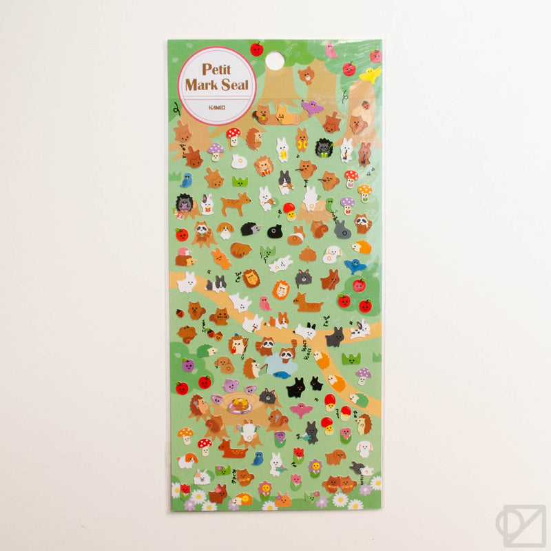 Kamio Petit Forest Animal Stickers