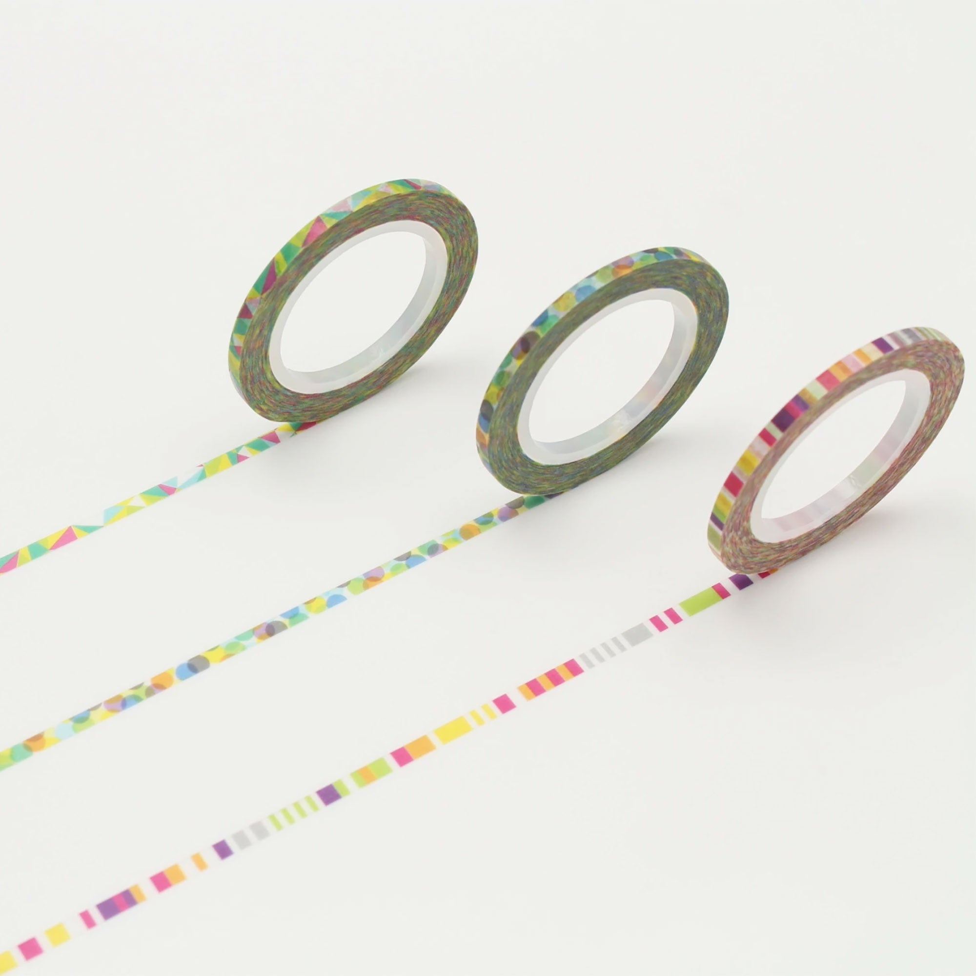 mt Slim 3mm Washi Tape Trio Pop