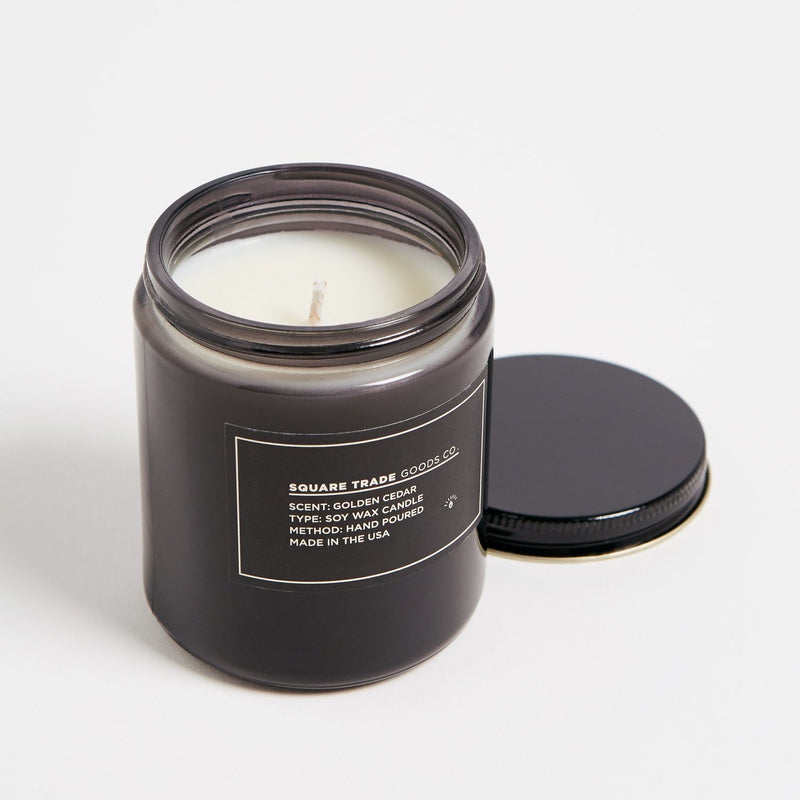 Square Trade Goods Co. Golden Cedar Candle