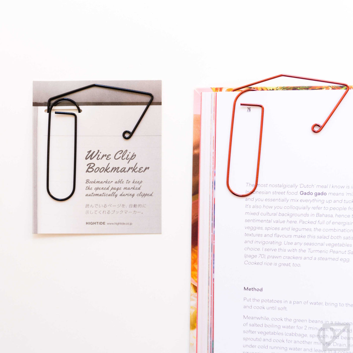 HIGHTIDE Wire Clip Bookmark