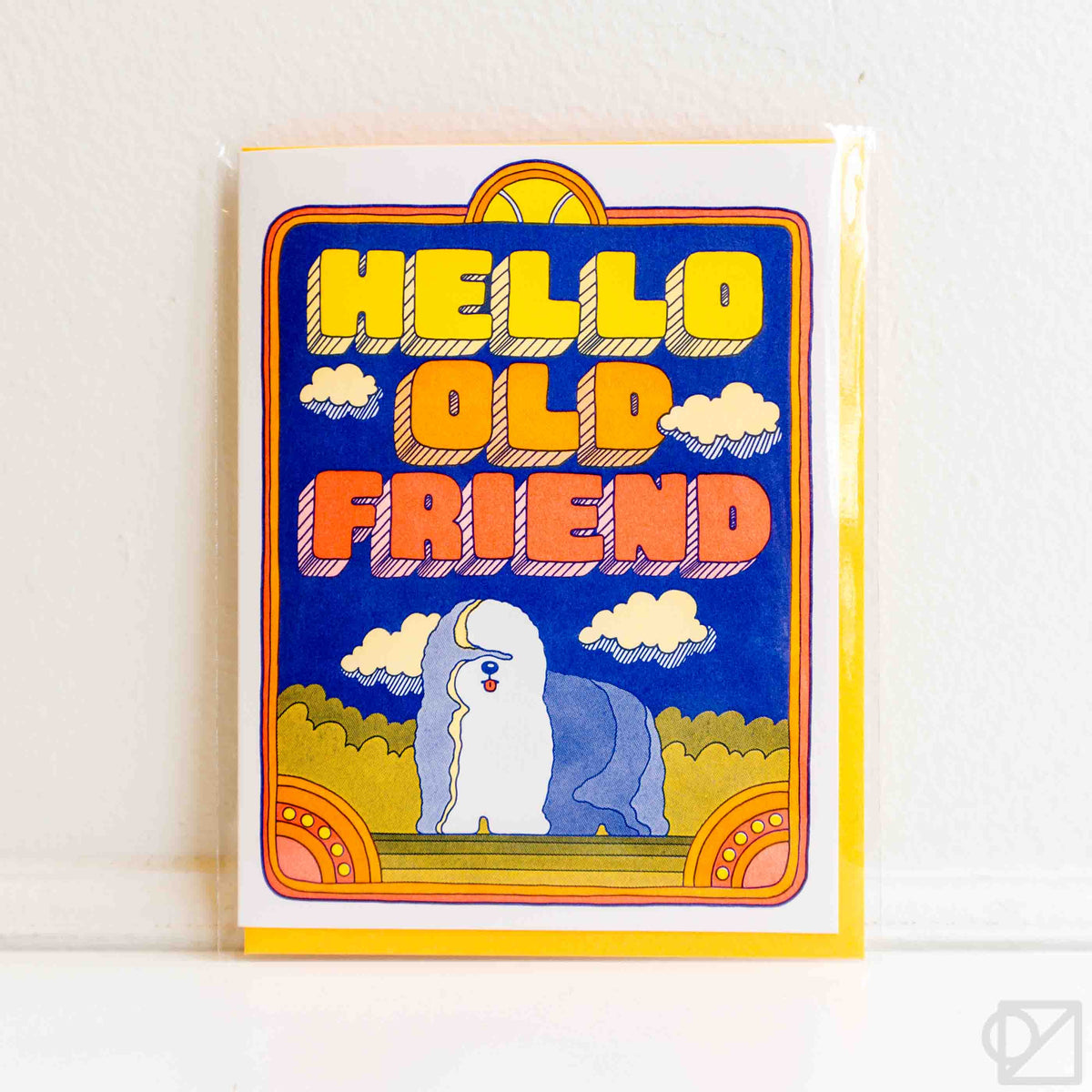 Hello Old Friend Card