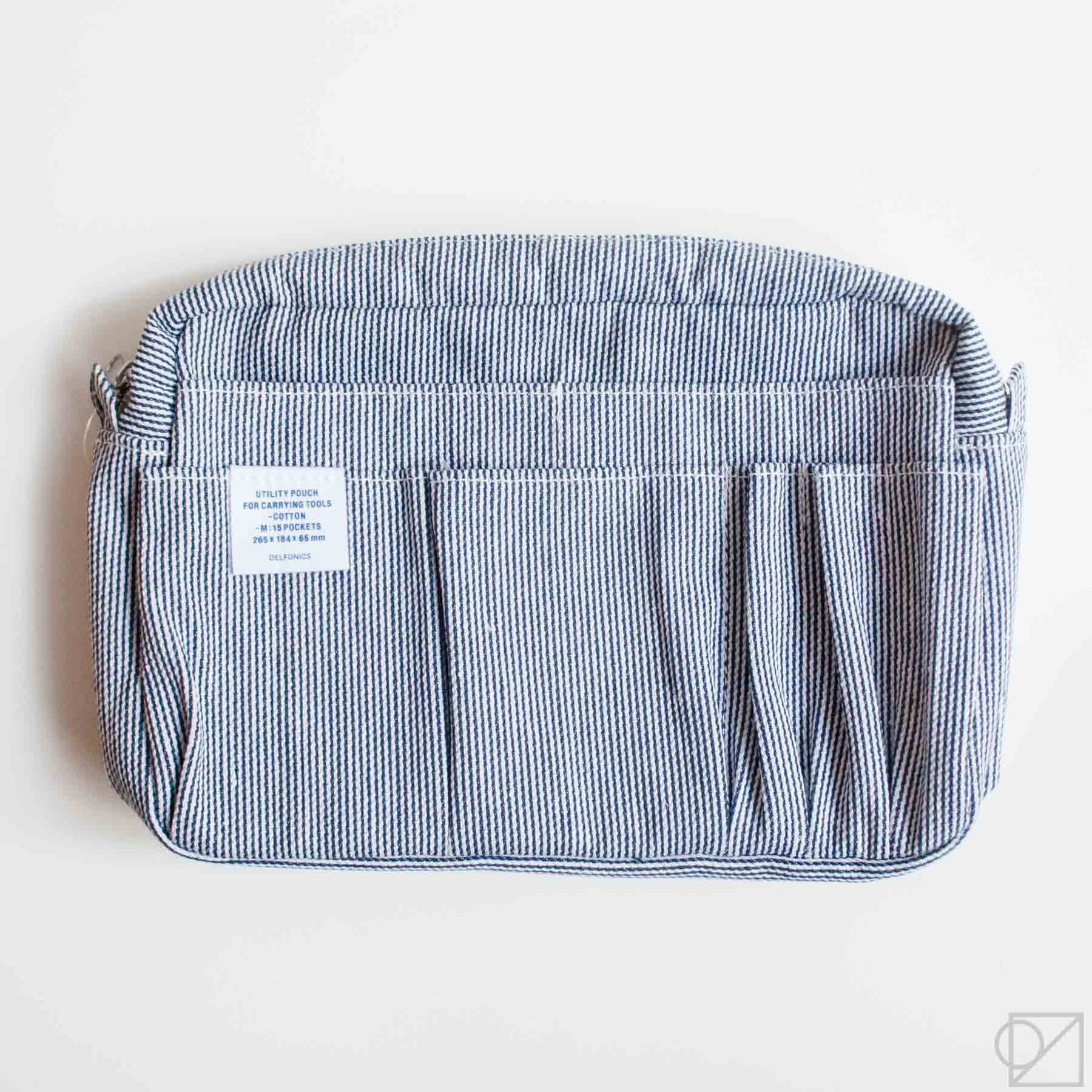 DELFONICS Utility Carrying Case M Hickory Stripe