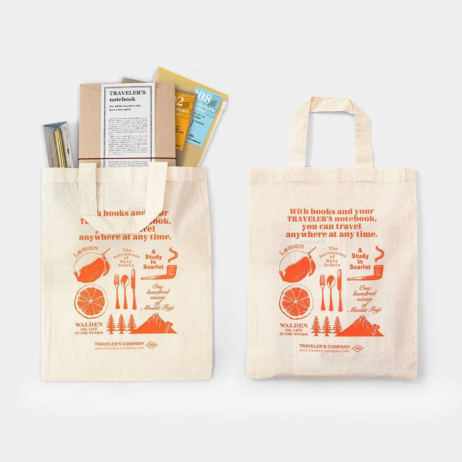 TRAVELER'S Company Cloth Gift Bag