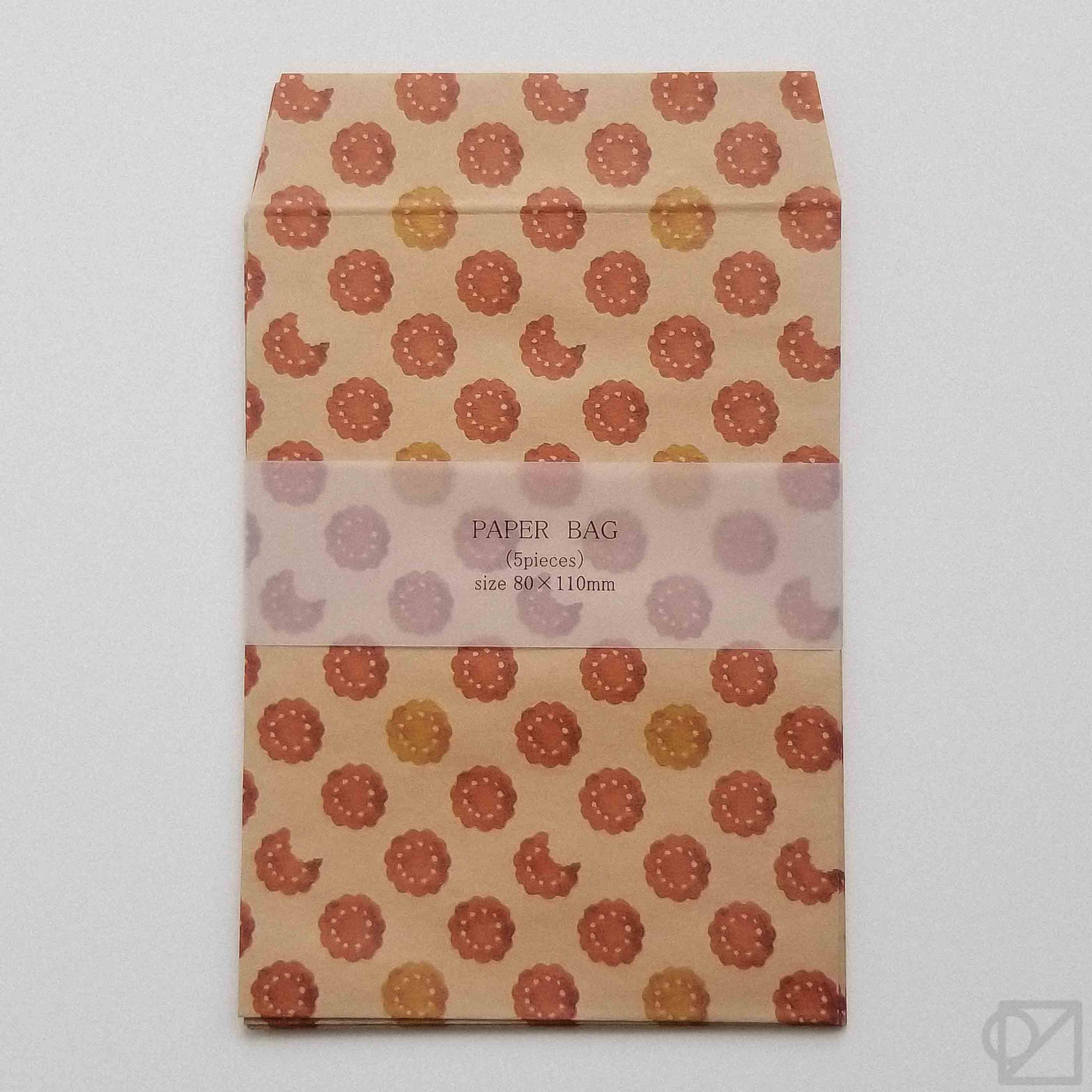 Tiny Wax Paper Envelope Tea Biscuits
