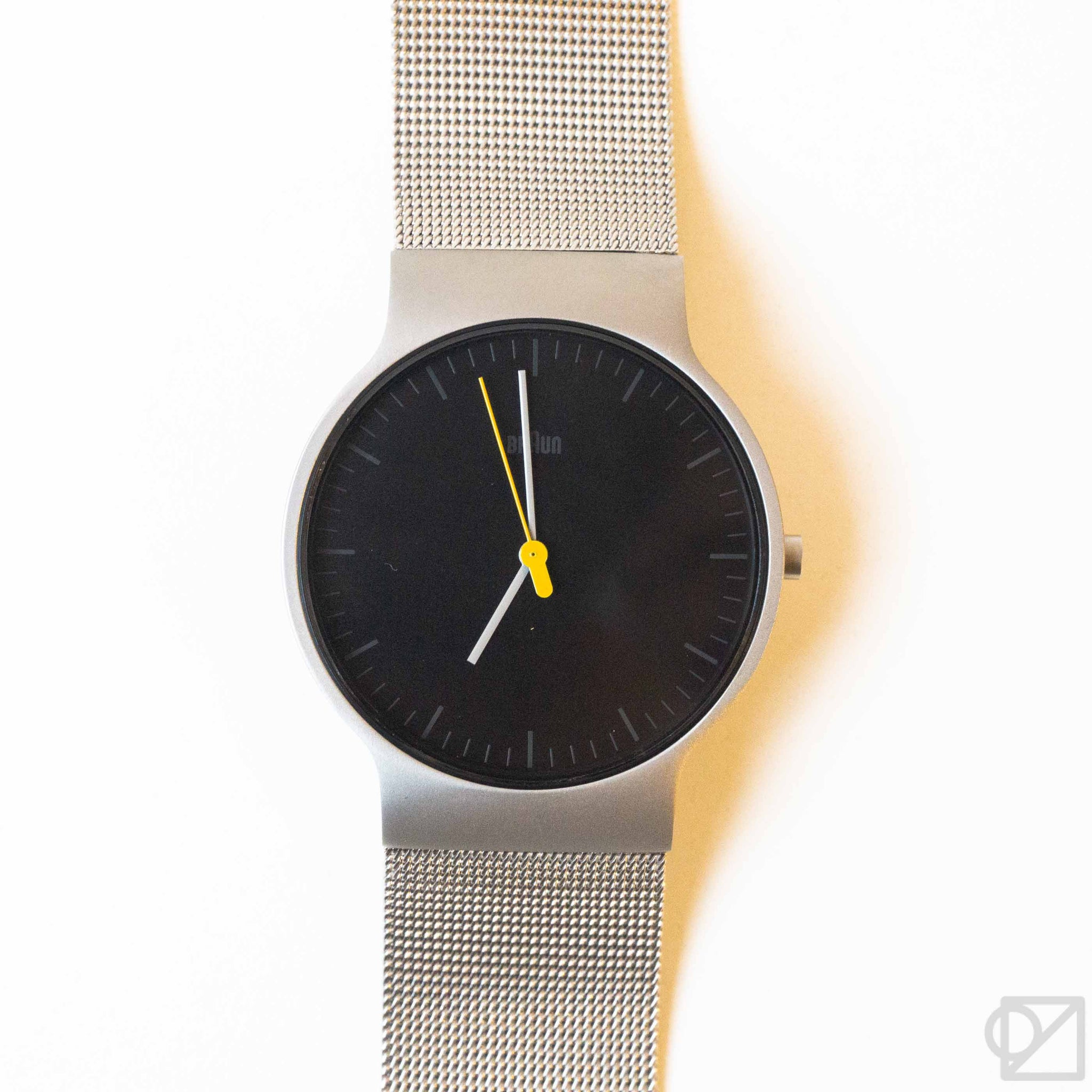 BRAUN Slim Stainless Wristwatch