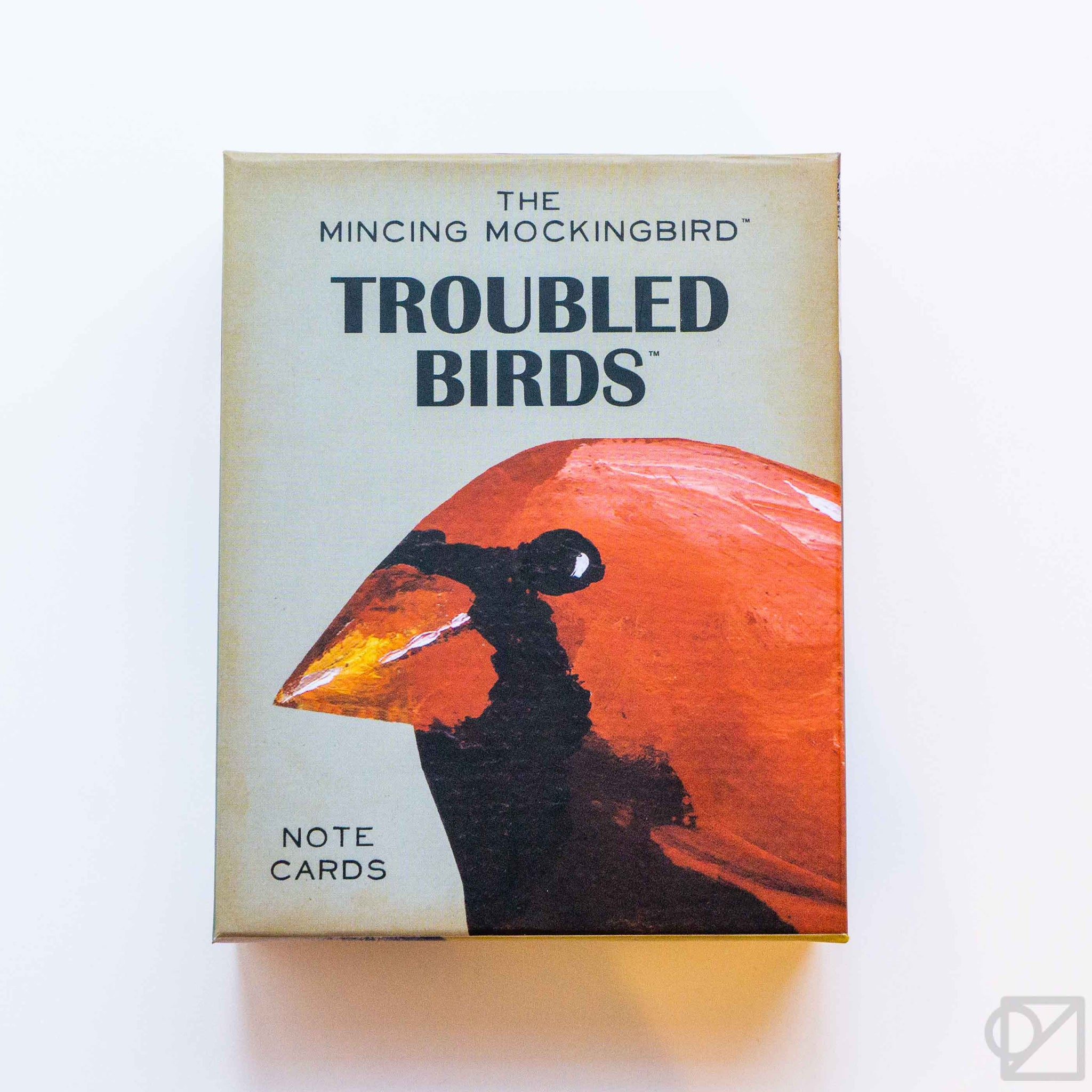 Troubled Bird Cards Box Set