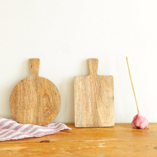 Fog Linen Work Mango Wood Small Serving Boards