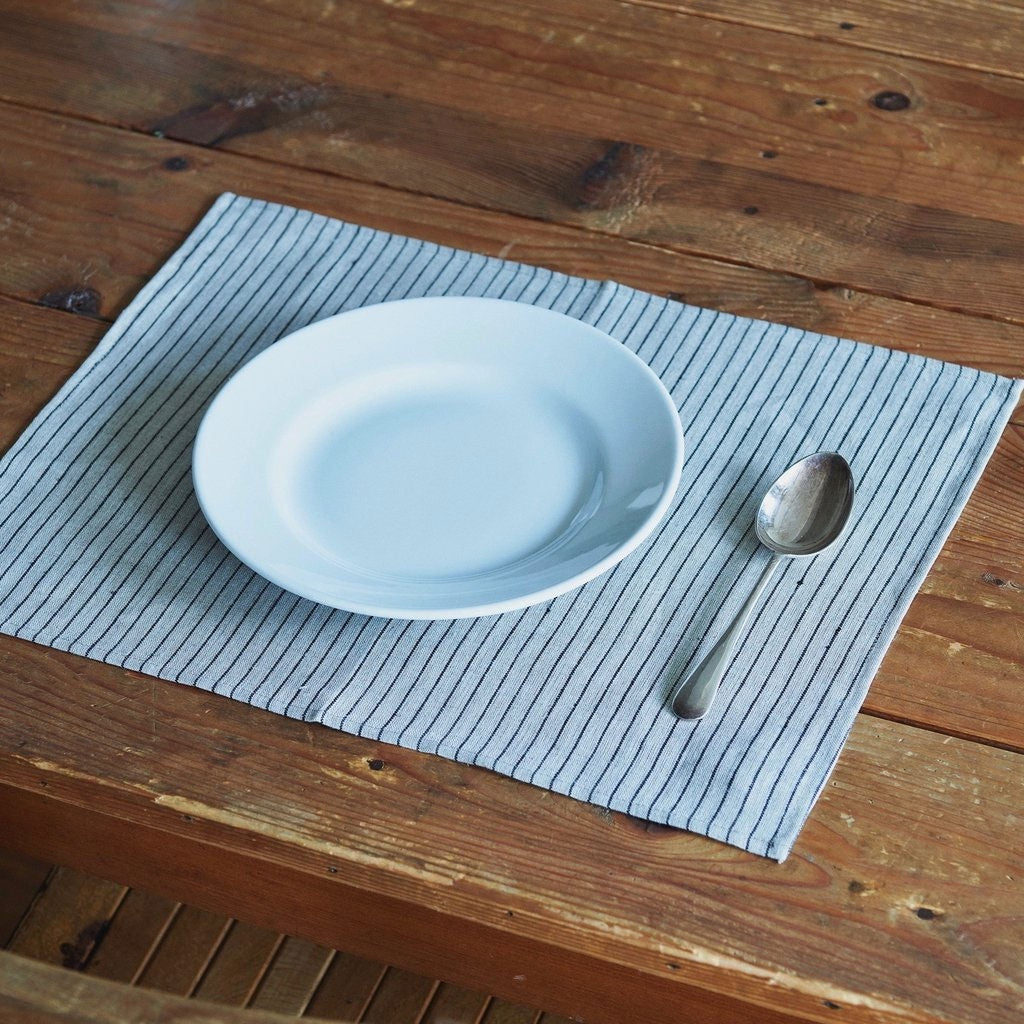 Fog Linen Work Placemat Stanley | Set of 2