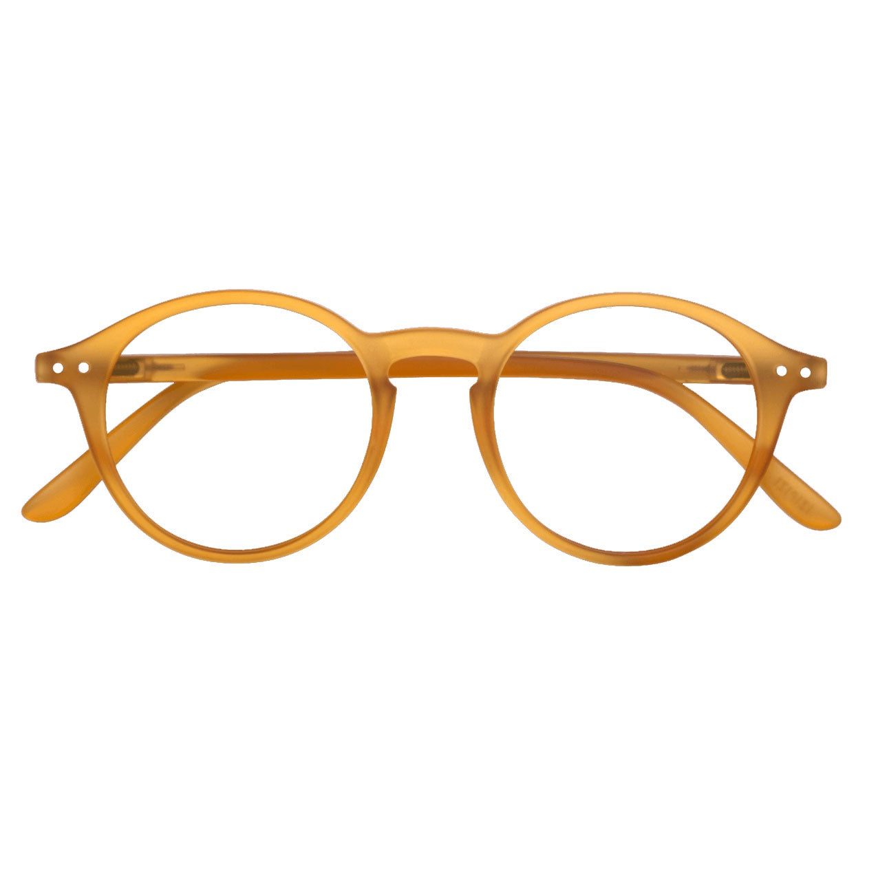 IZIPIZI #D Big Round Readers | Yellow Ochre