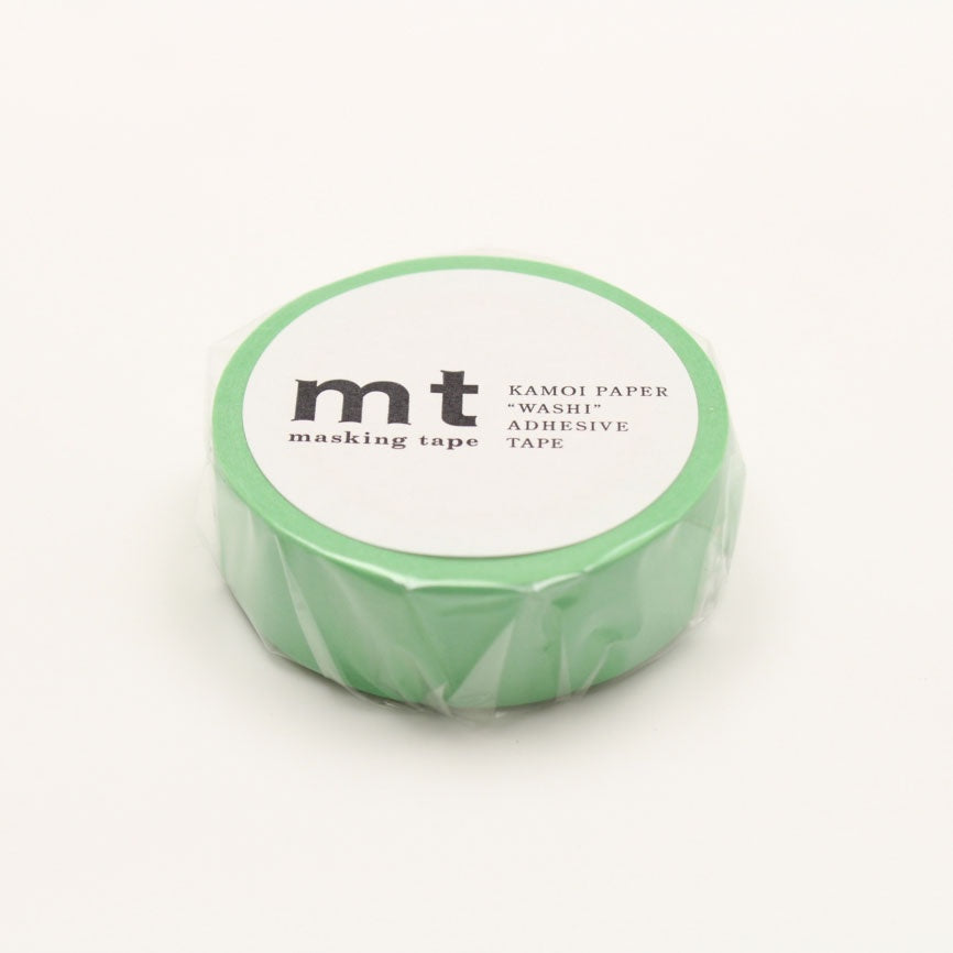 mt Washi Tape Single Verdant Green