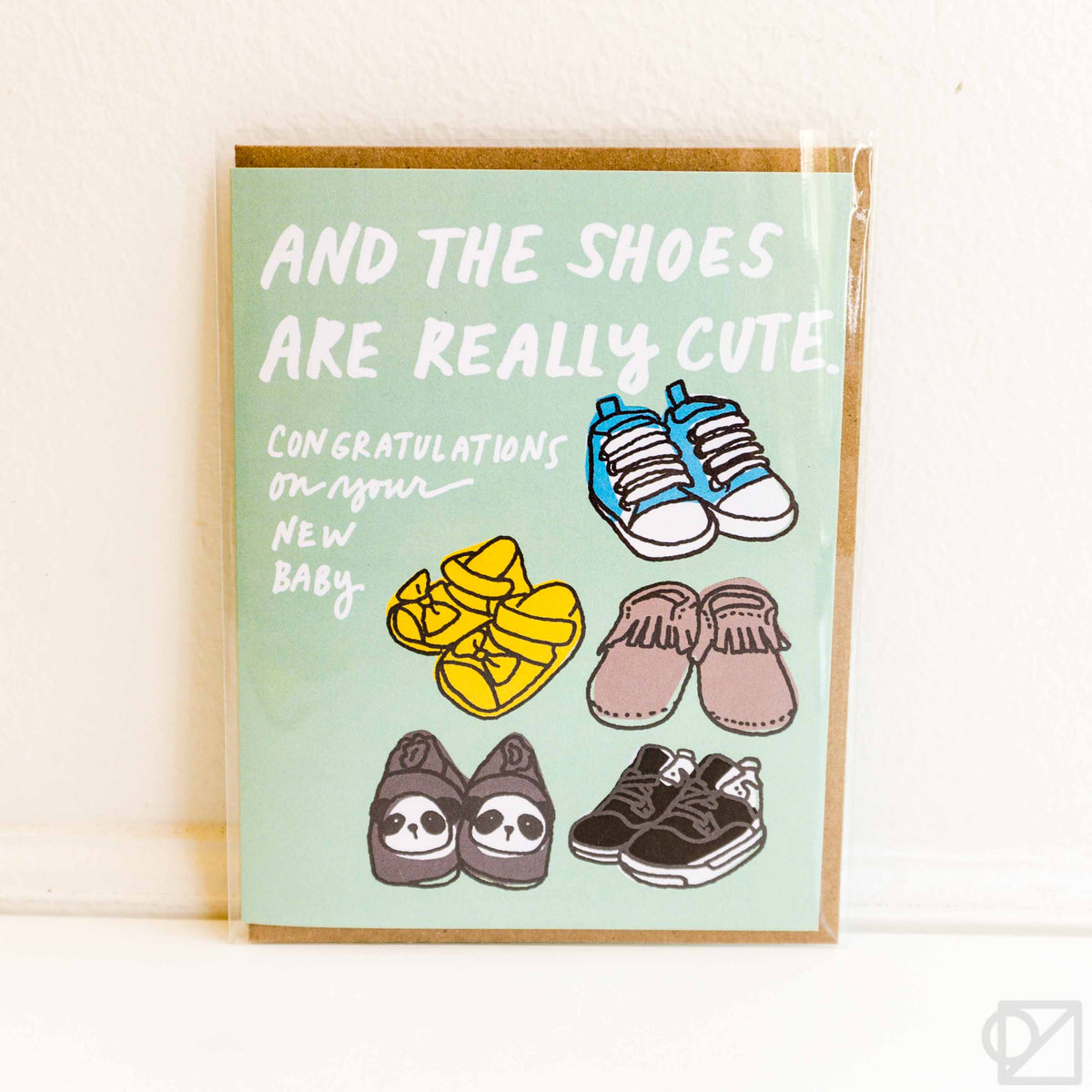Baby Shoes Greeting Card