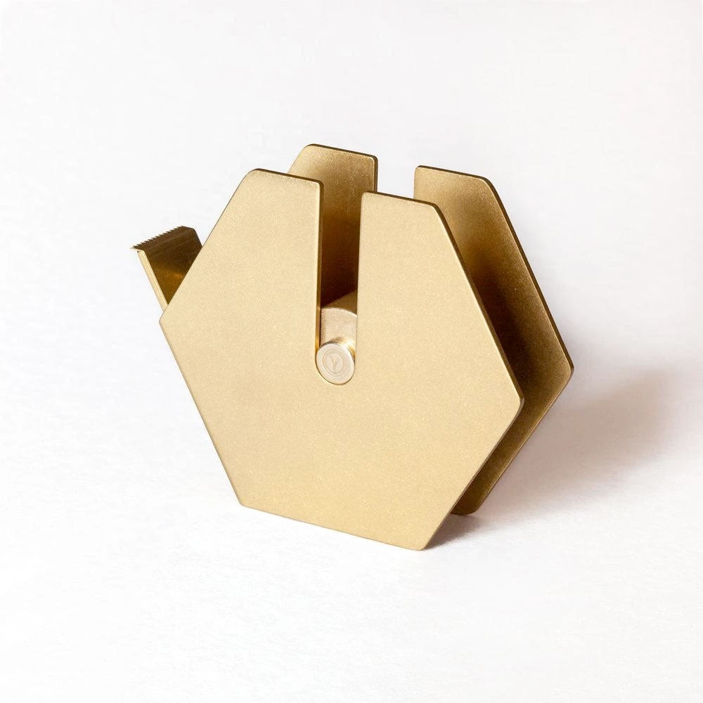 ystudio Classis Brass Tape Dispenser