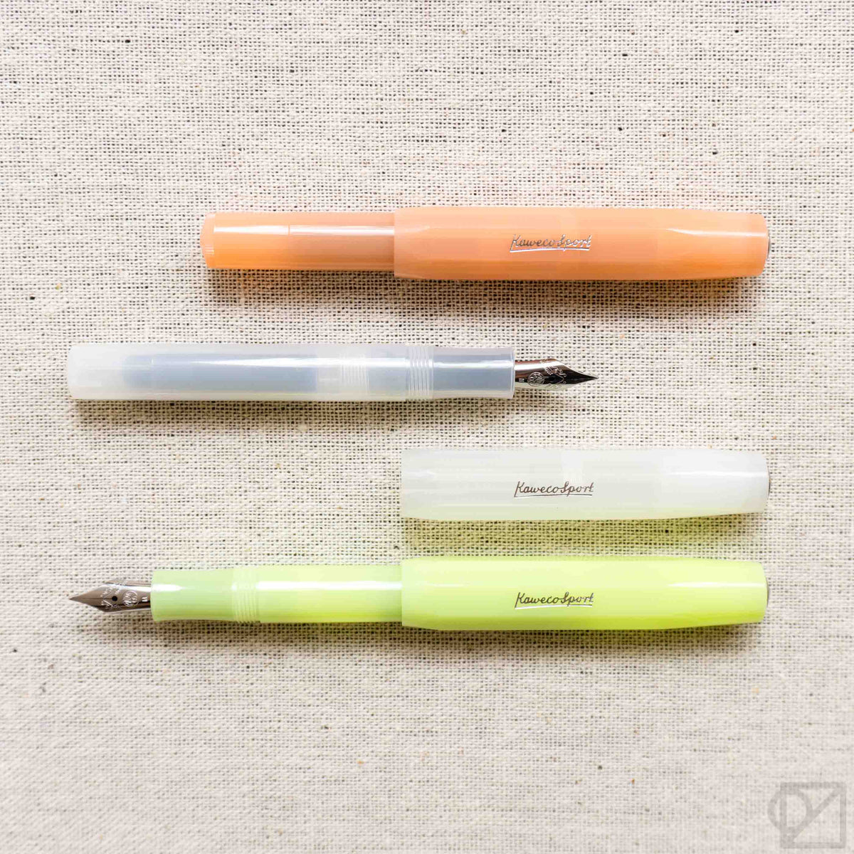 Kaweco Frosted Sport Fountain Pens