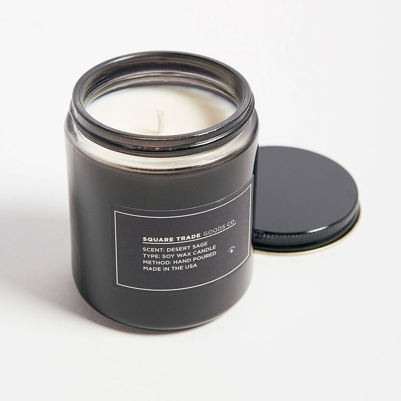 Square Trade Goods Co. Desert Sage Candle