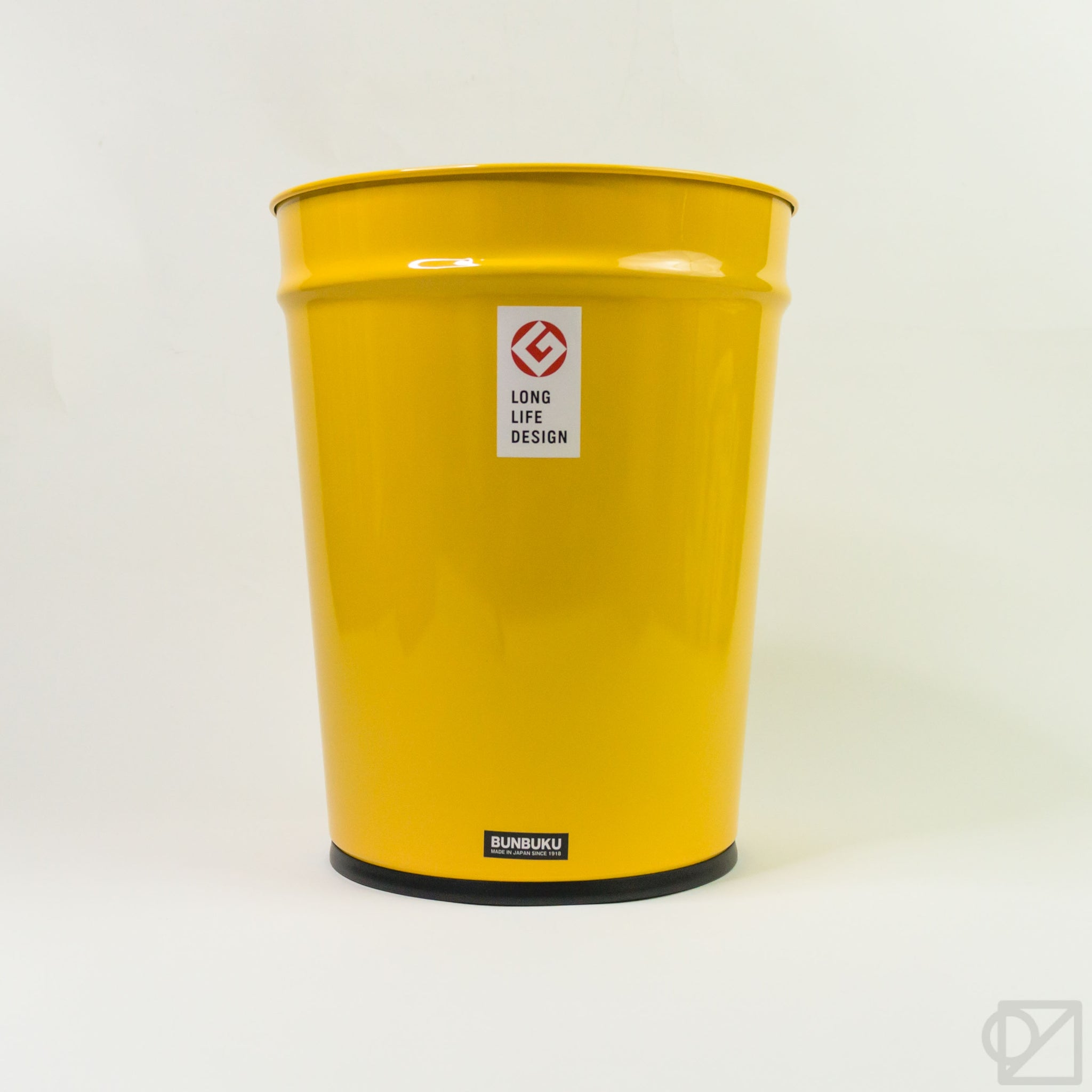 BUNBUKU Large Waste Basket Yellow