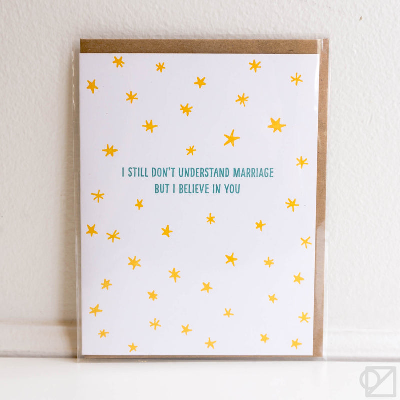 Believe In You Marriage Card