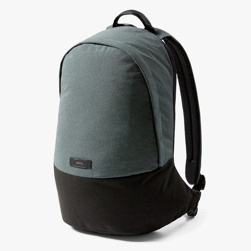 Bellroy Classic Backpack Moss Grey for urban adventurers