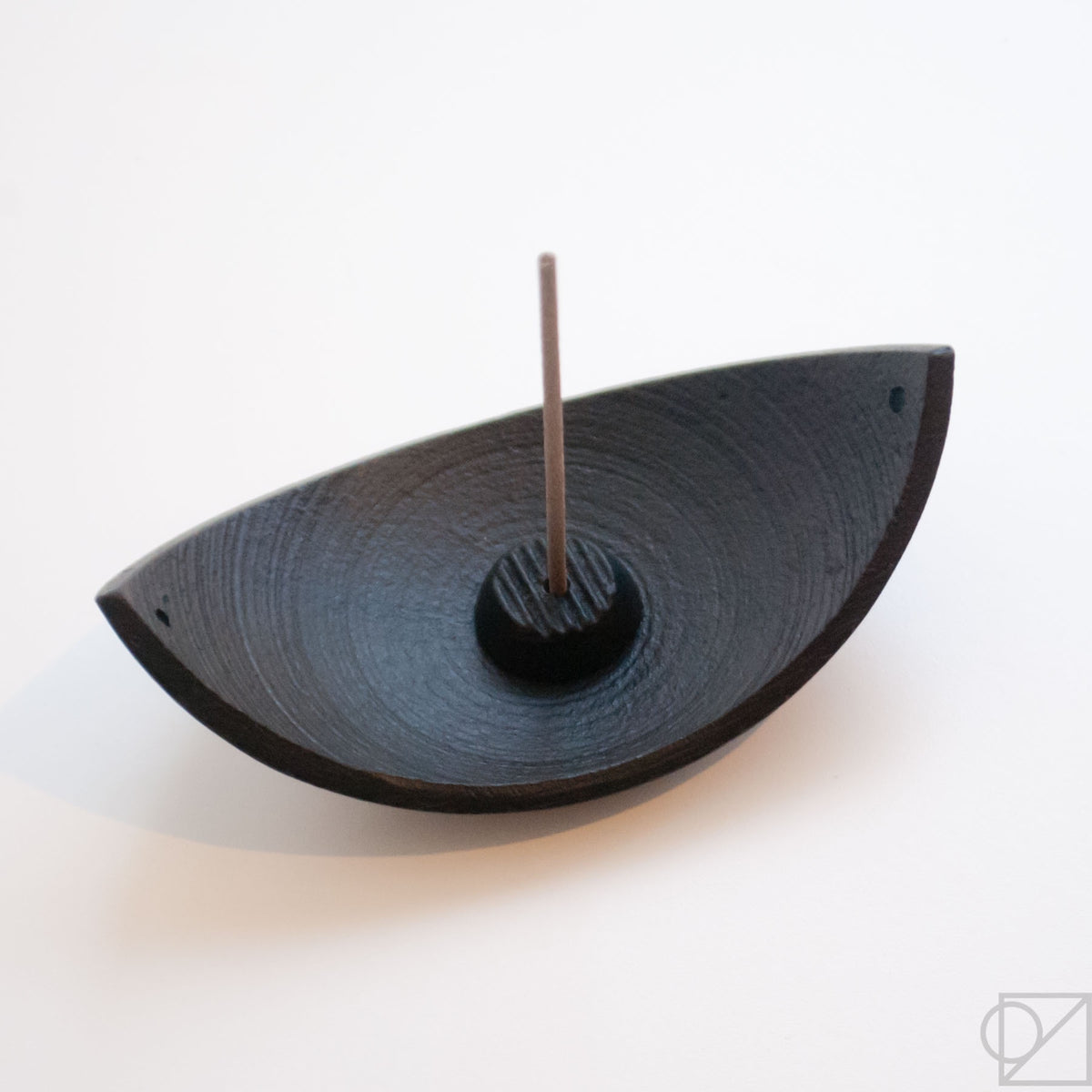 Cast Iron Leaf Incense Burner