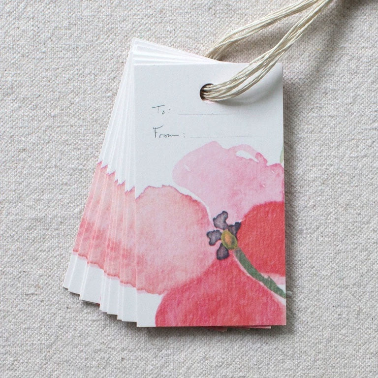 Single Bloom Gift Tags