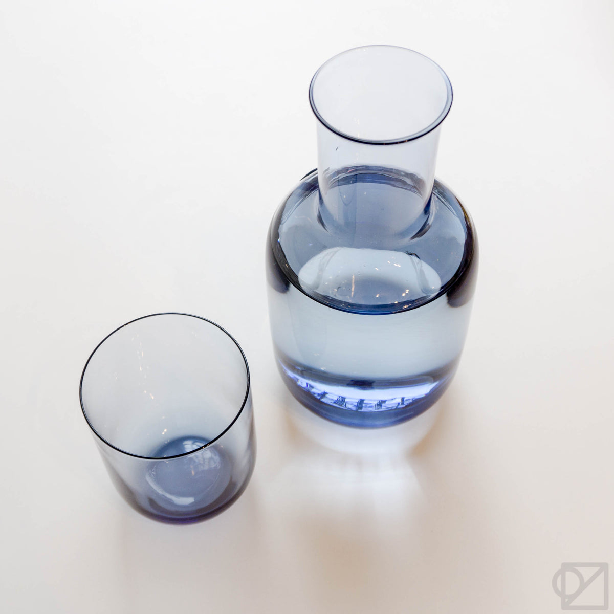 Night Carafe Set Blue