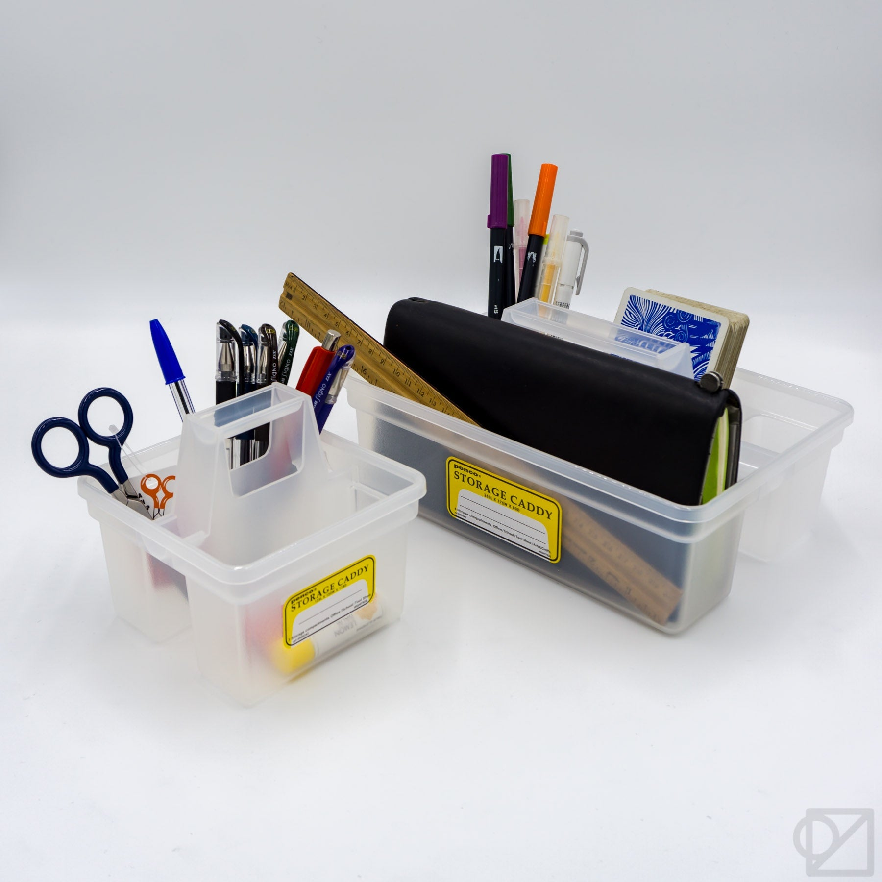 PENCO Storage Caddy Clear Collection