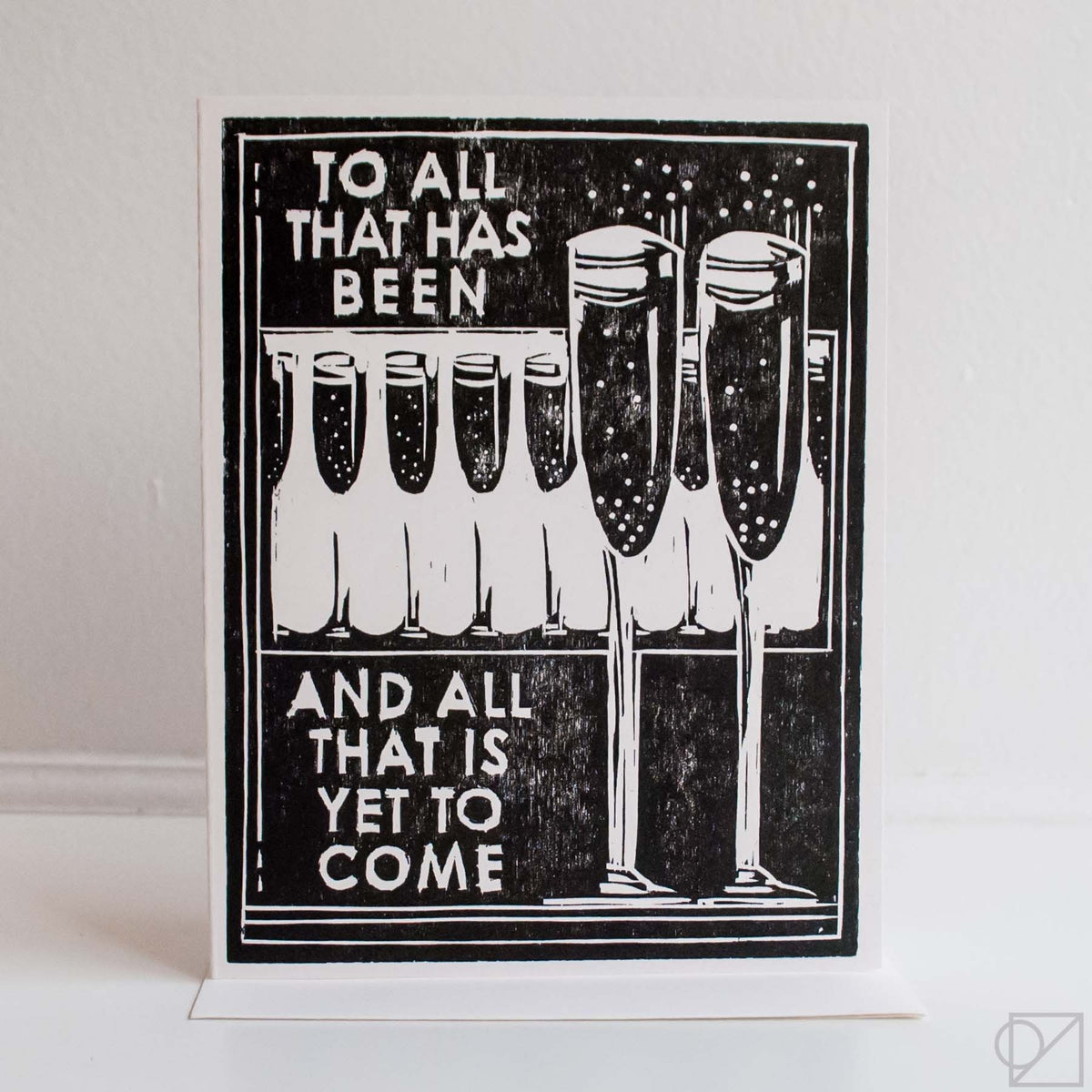 Cheers To It All Greeting Card