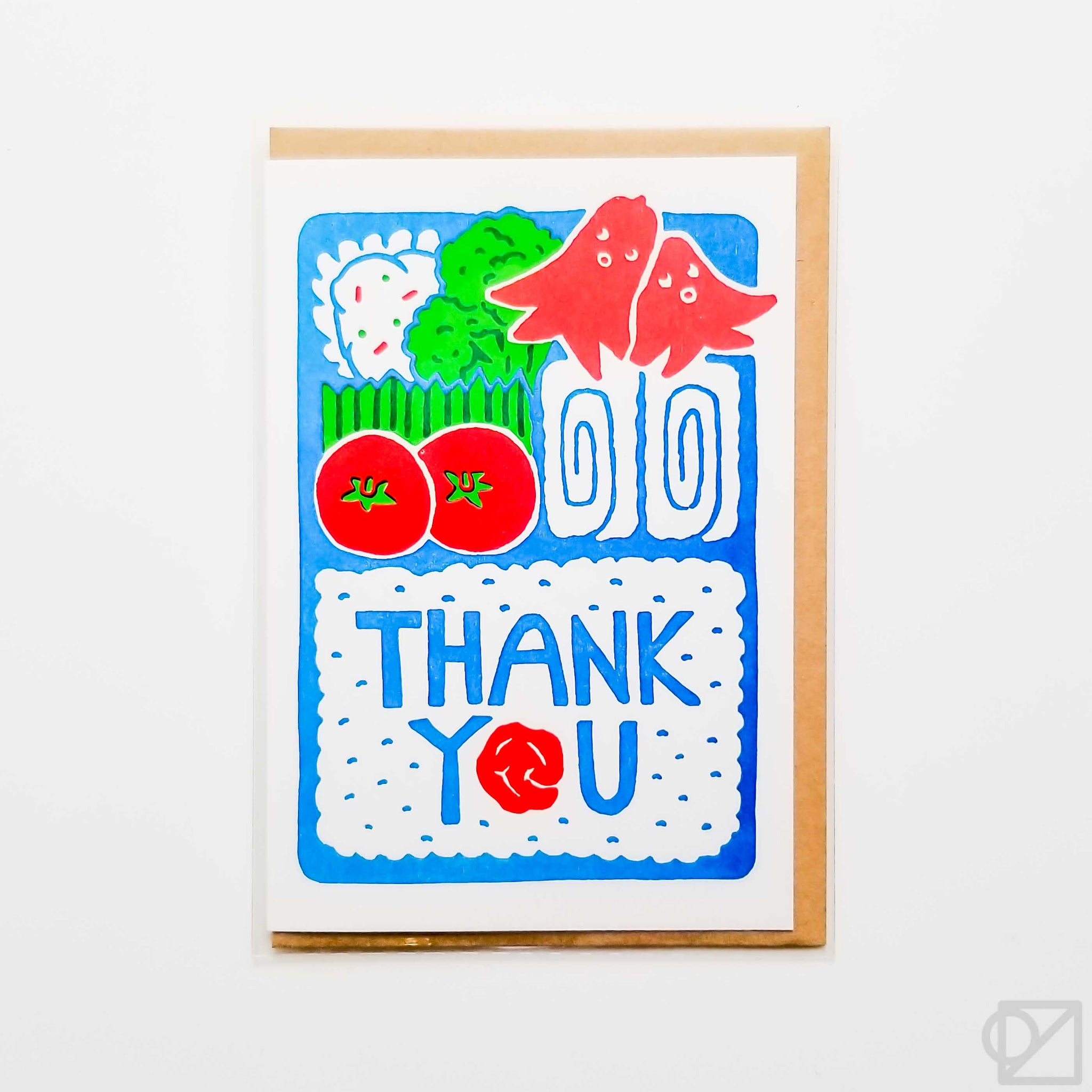 Bento Thank You Greeting Card