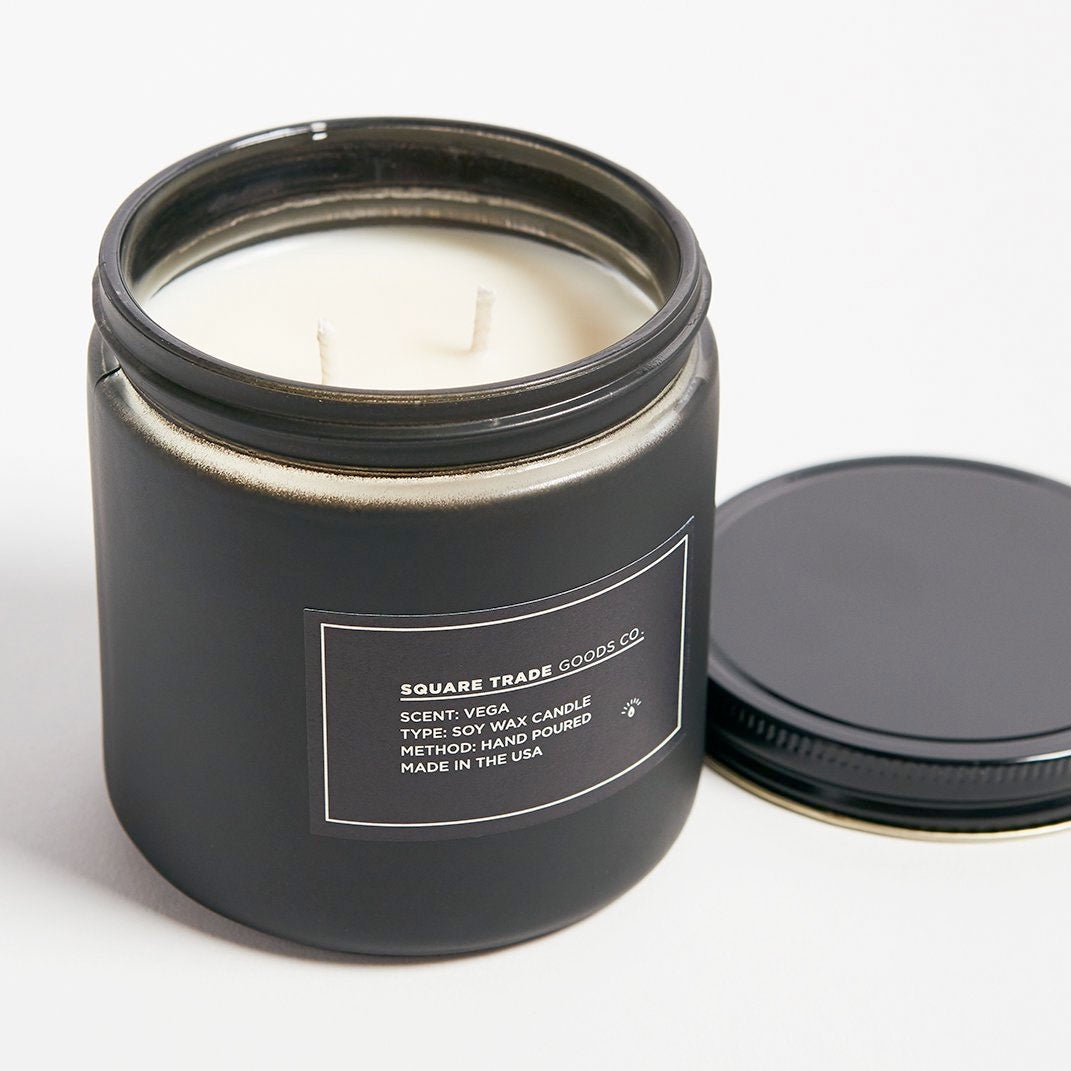 Square Trade Goods Co. Vega Double Wick Candle