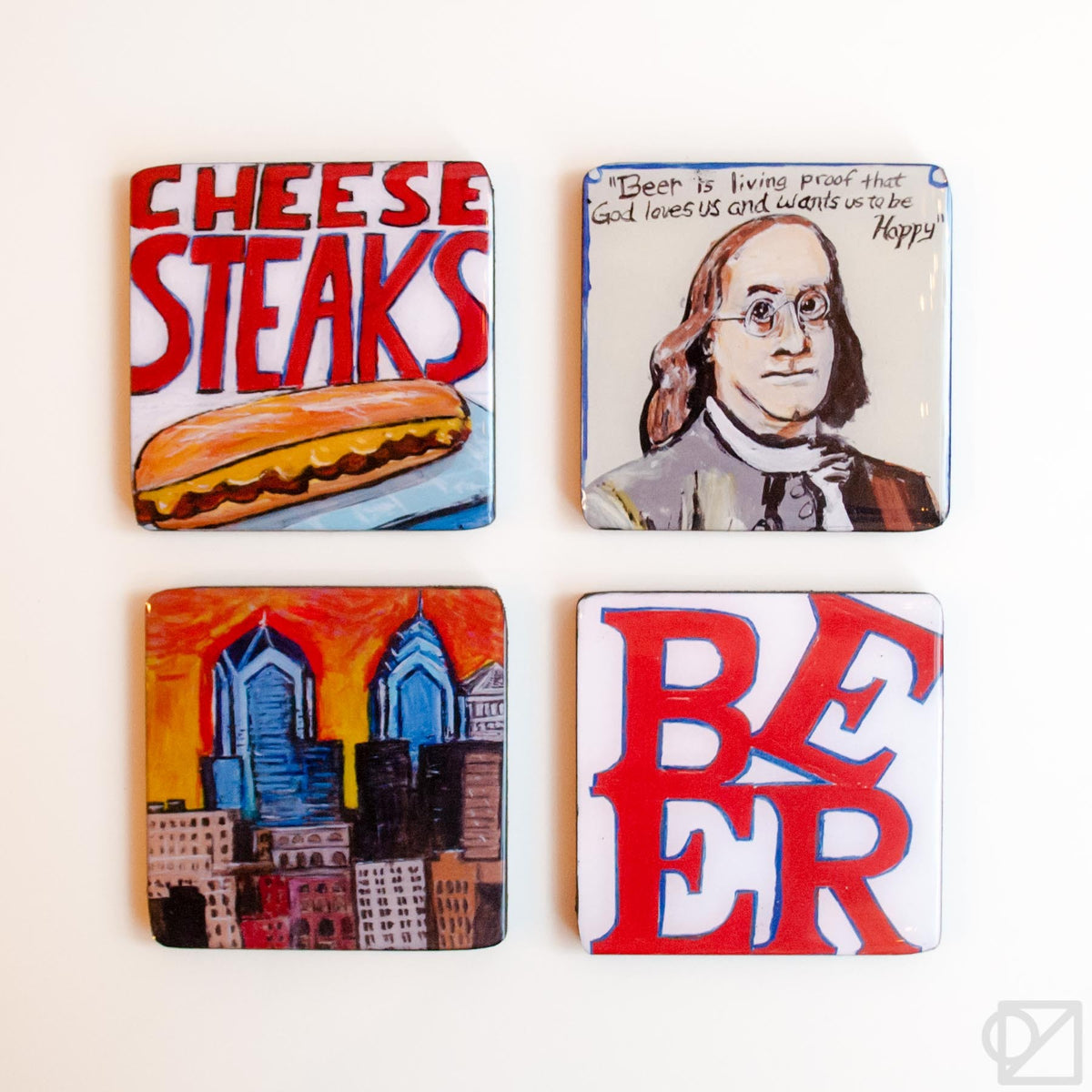 Philly Coaster Set