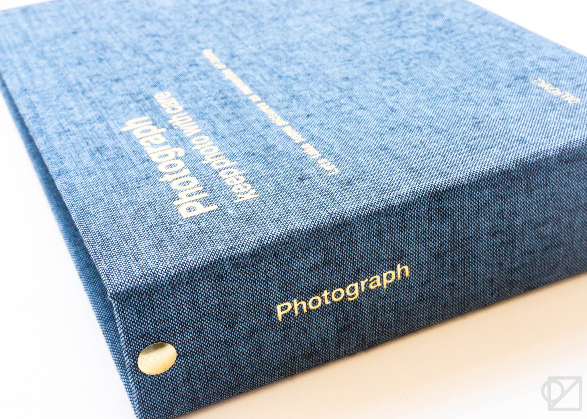 DELFONICS Small Ring Photo Album Chambray Blue