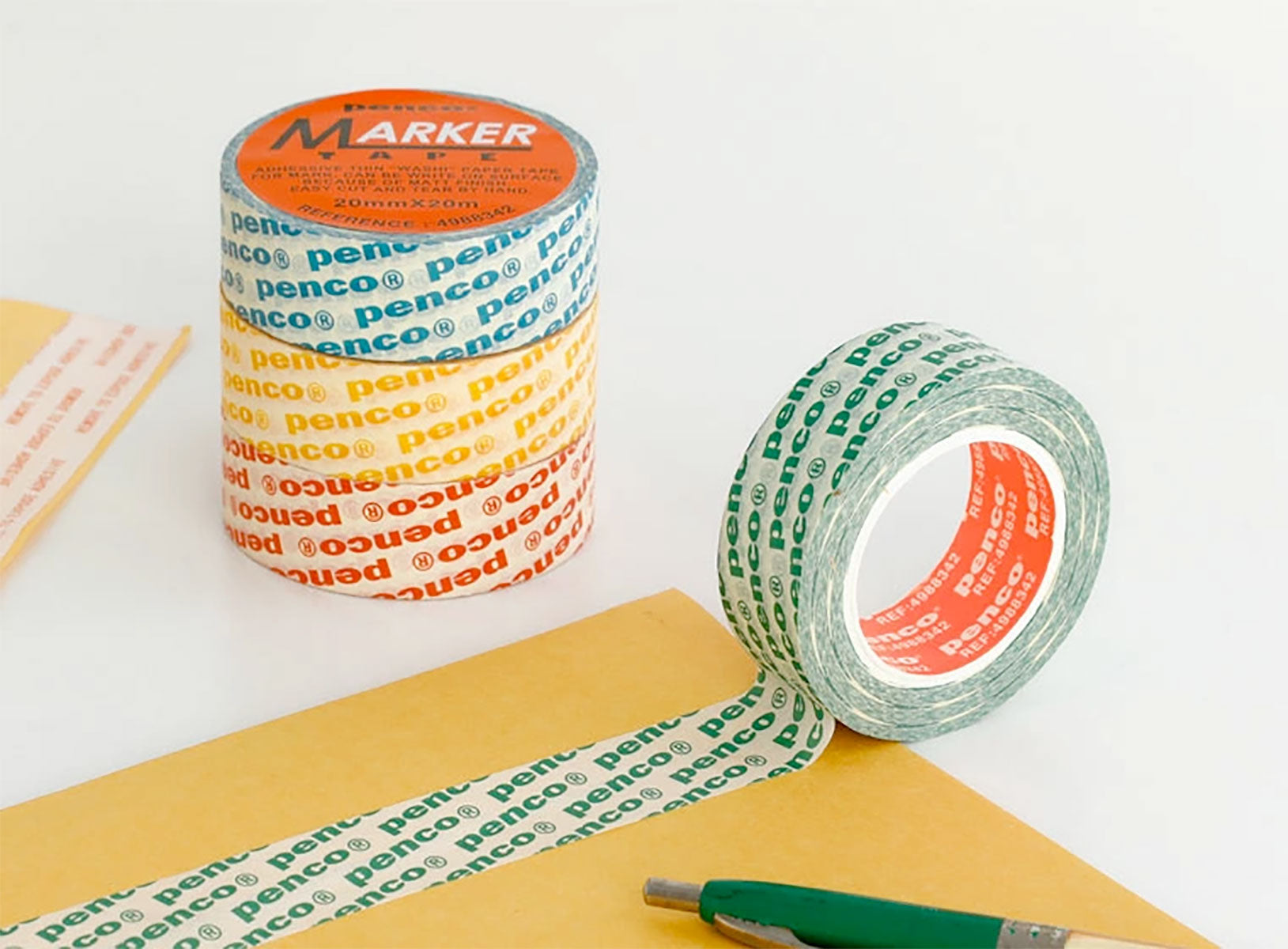 PENCO Blue Small Logo Masking Tape