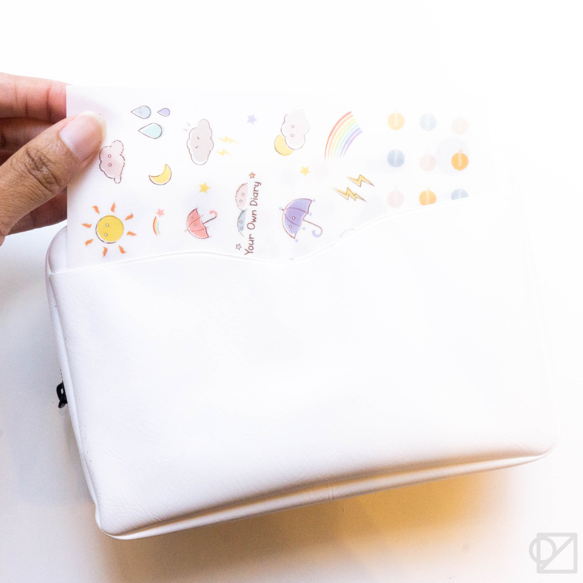 nähe Packing Pouch White