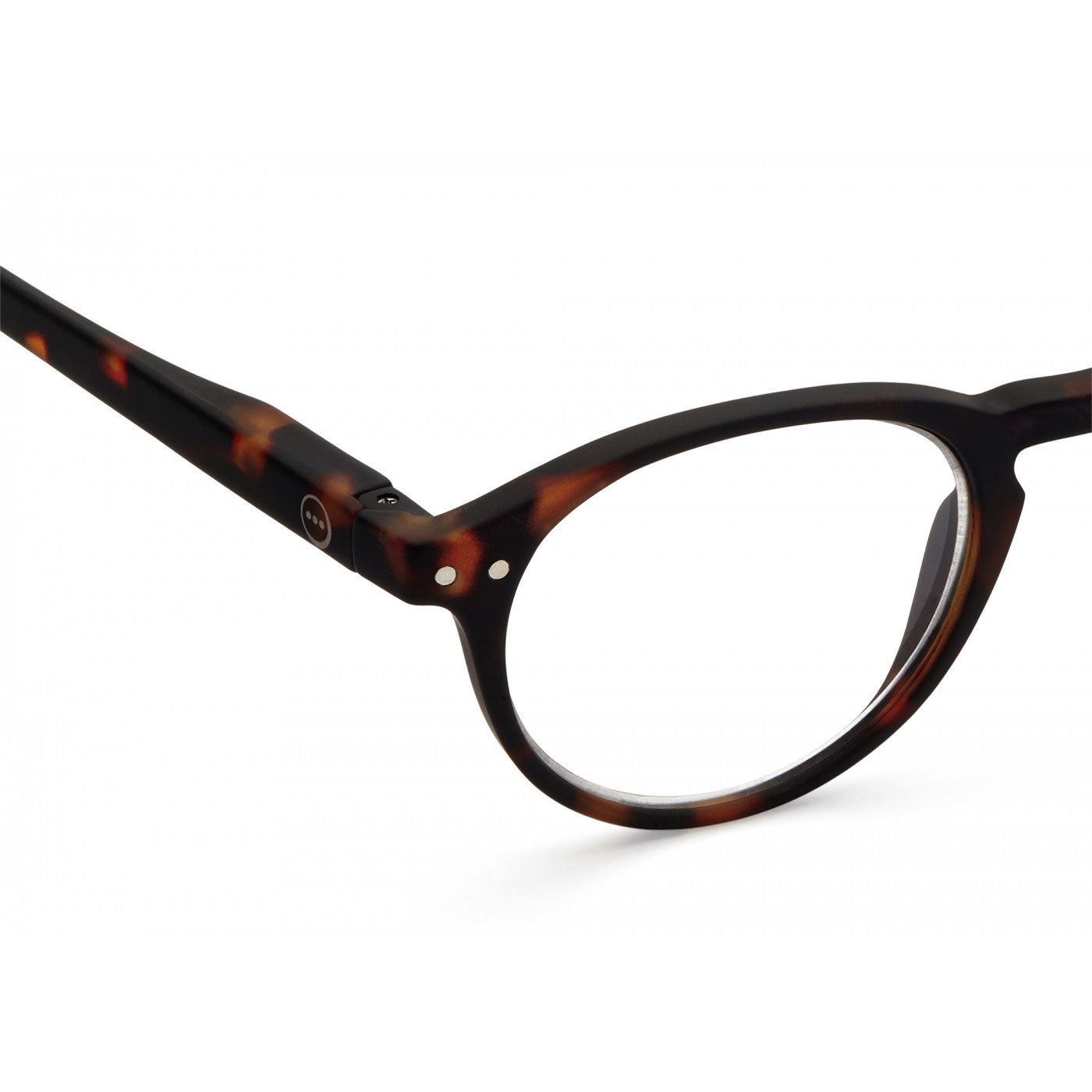 IZIPIZI #A Small Round Readers in Tortoise