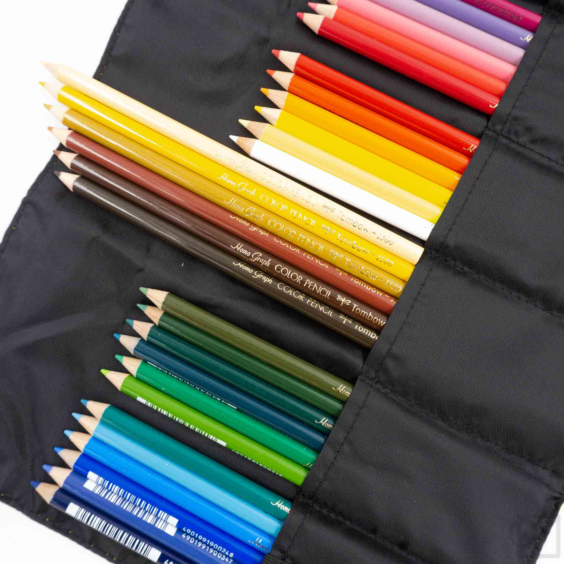Tombow 36pc Color Pencil Set with Roll Case
