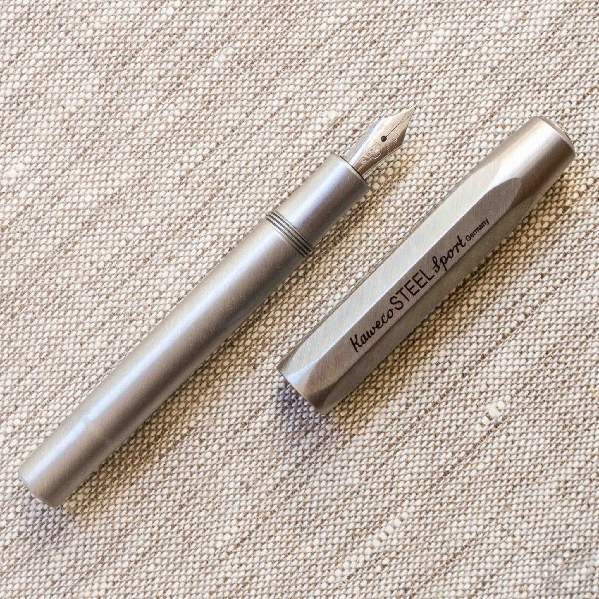 Kaweco Steel Sport Medium Nib Fountain Pen