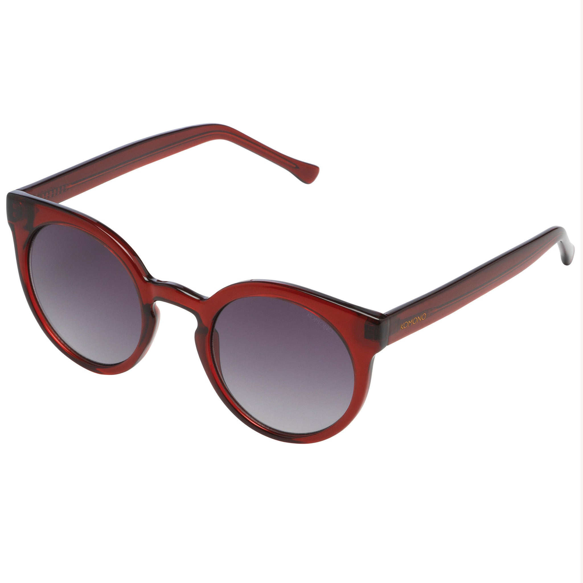 KOMONO Lulu Sunglasses in Burgundy